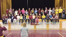 Grade 2 Cheer