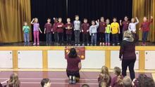Grade 1 Cheer